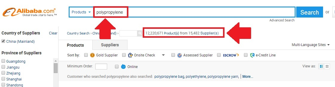 Polypropylene from China