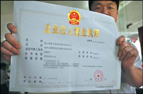 china business license verification