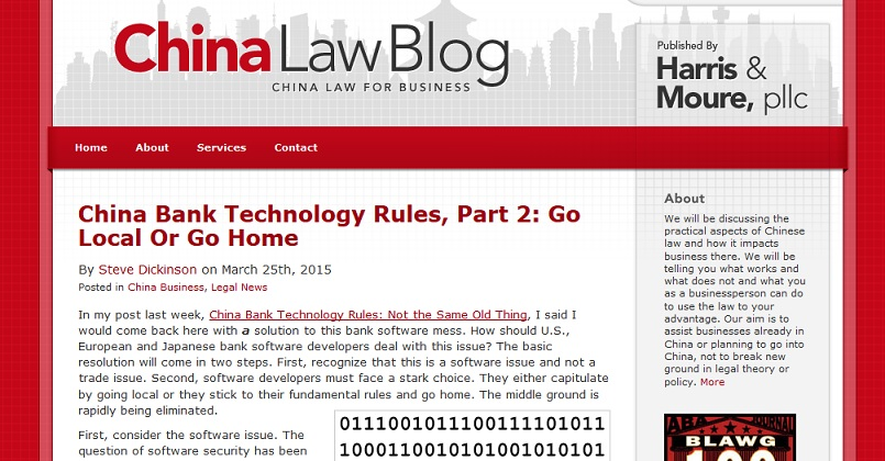 china lawblog
