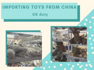 US tariffs on toys from China
