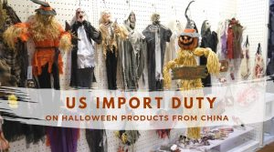 import duty on Halloween products