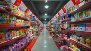 toy production area in China
