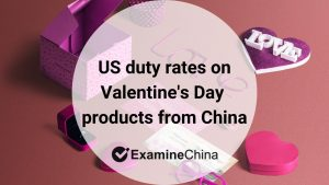 Valentine's Day products from China