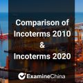 Comparison of incoterms 2010 and incoterms 2020