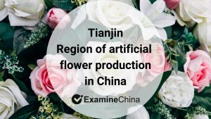 Region of artificial flower production in China