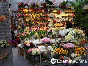 Artificial flower production in Tianjin