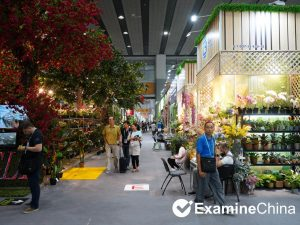 Region of artificial flower production in China - trade fairs