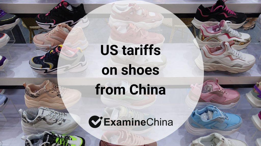 US tariffs on shoes from China