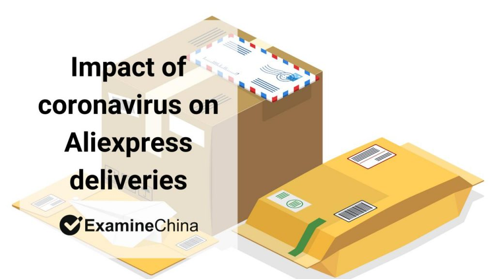 impact of coronavirus on Aliexpress delivery