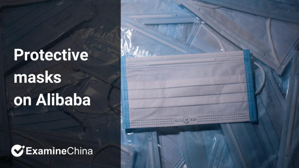 protective masks on Alibaba