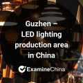 Guzhen LED lighting production area in China