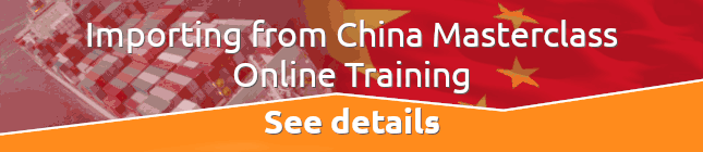 Importing from China Masterclass Online Training