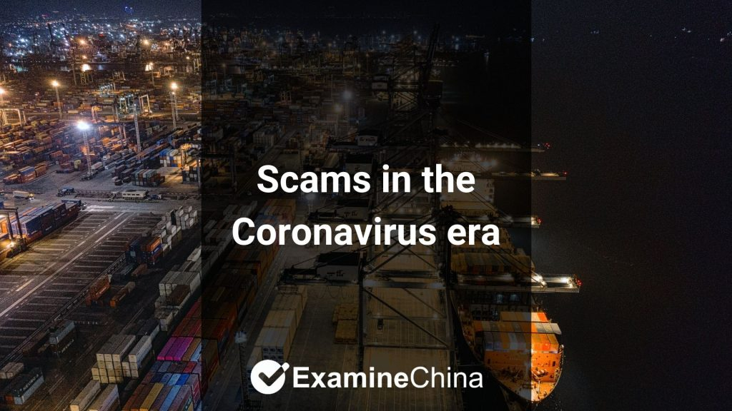Scams in the Coronavirus era