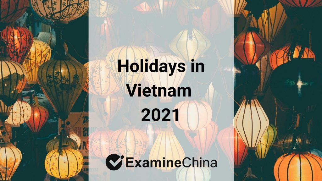 holidays in Vietnam 2021