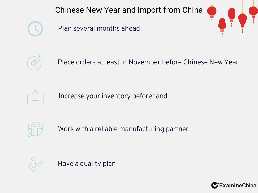 Chinese New Year and import preparations
