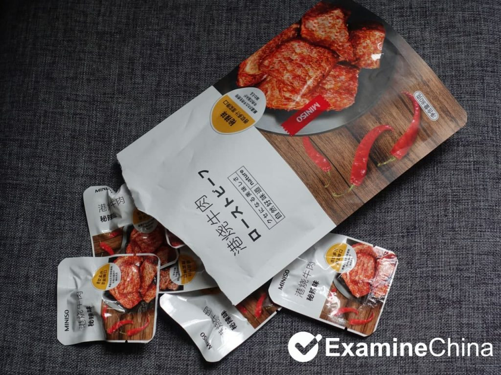 Beef jerky in China