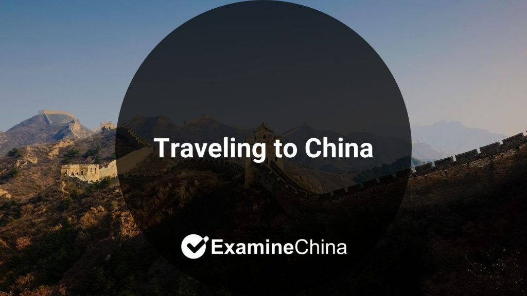 Traveling to China - preparations