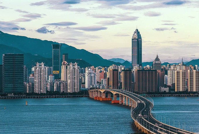Wenzhou City in China