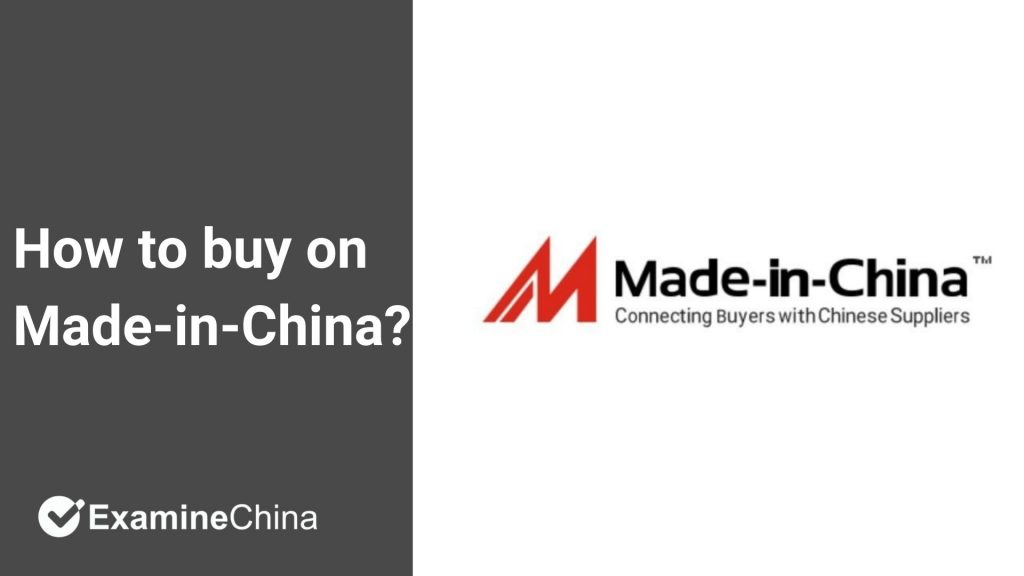 How to buy on Made-in-China?